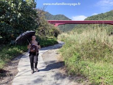Promenade aménagée à Donghe
