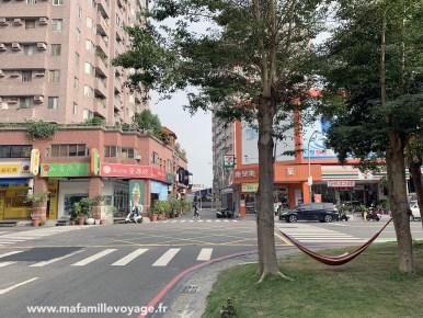 Promenade dans le centre-ville