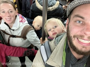 Trajet en métro