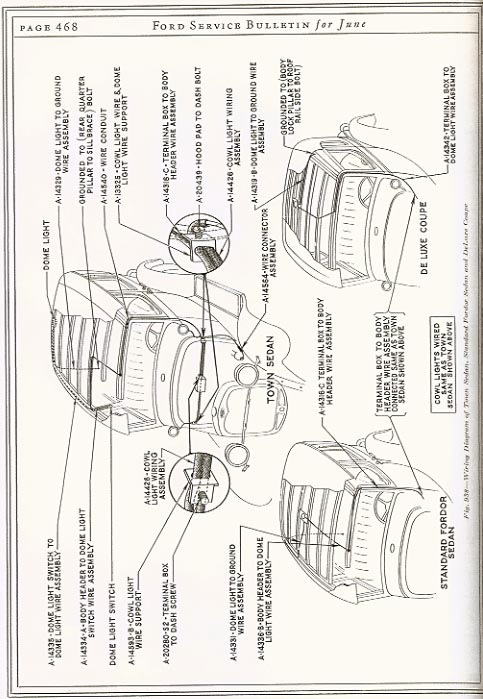 model a ford wiring diagram with cowl lights on model images. free,