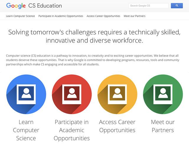 google-CS-education
