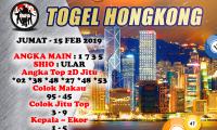 PREDIKSI TOGEL HONGKONG JUMAT 15 FEBUARI 2019
