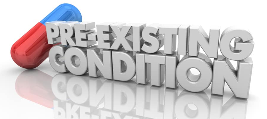 Pre-Existing Conditions In A Maryland Car Accident