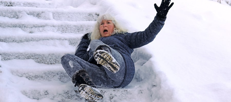 The Dangers Of Slip And Fall Accidents In The Winter