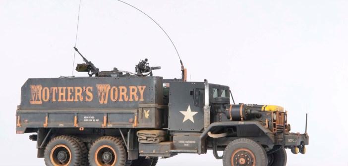 Viet Nam Gun Truck build in November Airfix Model World