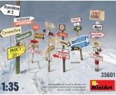 Mini Art WW2 Soviet Road Signs