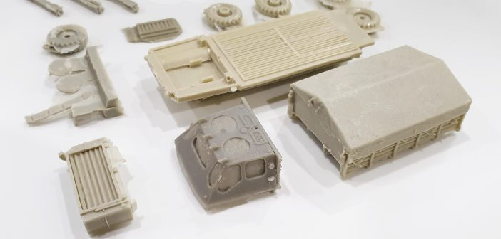 Small scale Alvis Stalwart from Gramodels