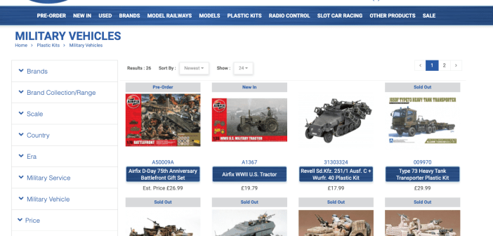Where can I get supplies?  Cheltenham Model Centre is open for mail order