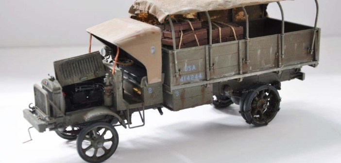 Alan J. Brown's Liberty Truck