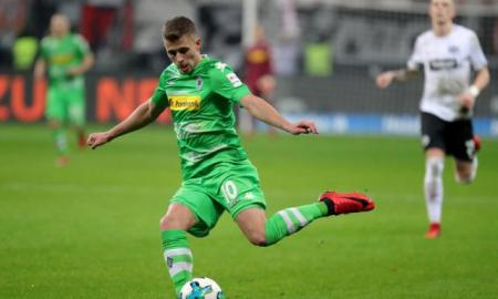 Bundesliga: Francfort bat Mönchengladbach, Thorgan Hazard loupe un penalty - redzone magazine des diables rouges