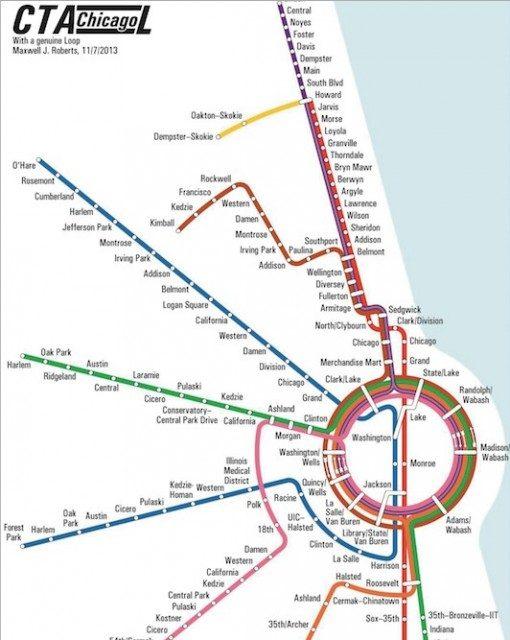 【東京も近未來系?】デザイナーが作った「路線図」がクール ...