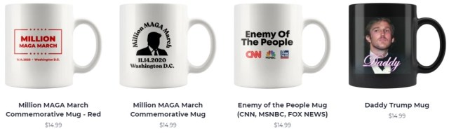 Many more coffee mugs - click for a larger selection.