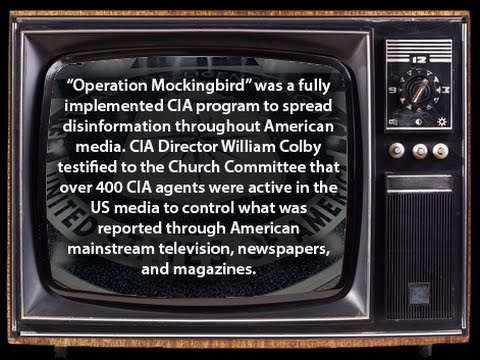 CIA Mockingbird program which explicitly targeted the Times, among a media spectrum of infiltration and censorship.