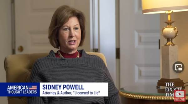 Attorney Sidney Powell Responds to SCOTUS Decision on Election Fraud Cases