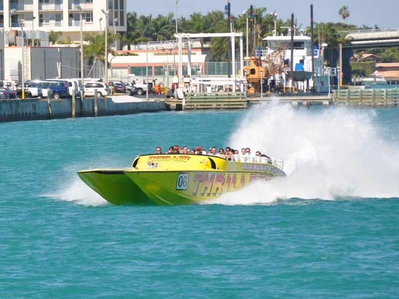 Thriller Miami Speed Boat Tour  Magari Blu