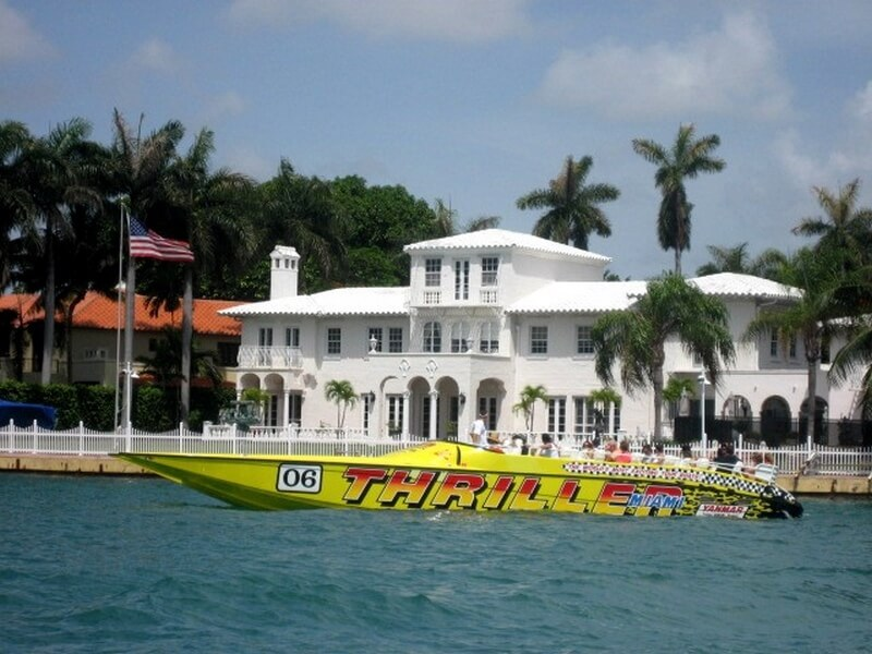 Thriller Miami Speed Boat Tour  Magari Blu