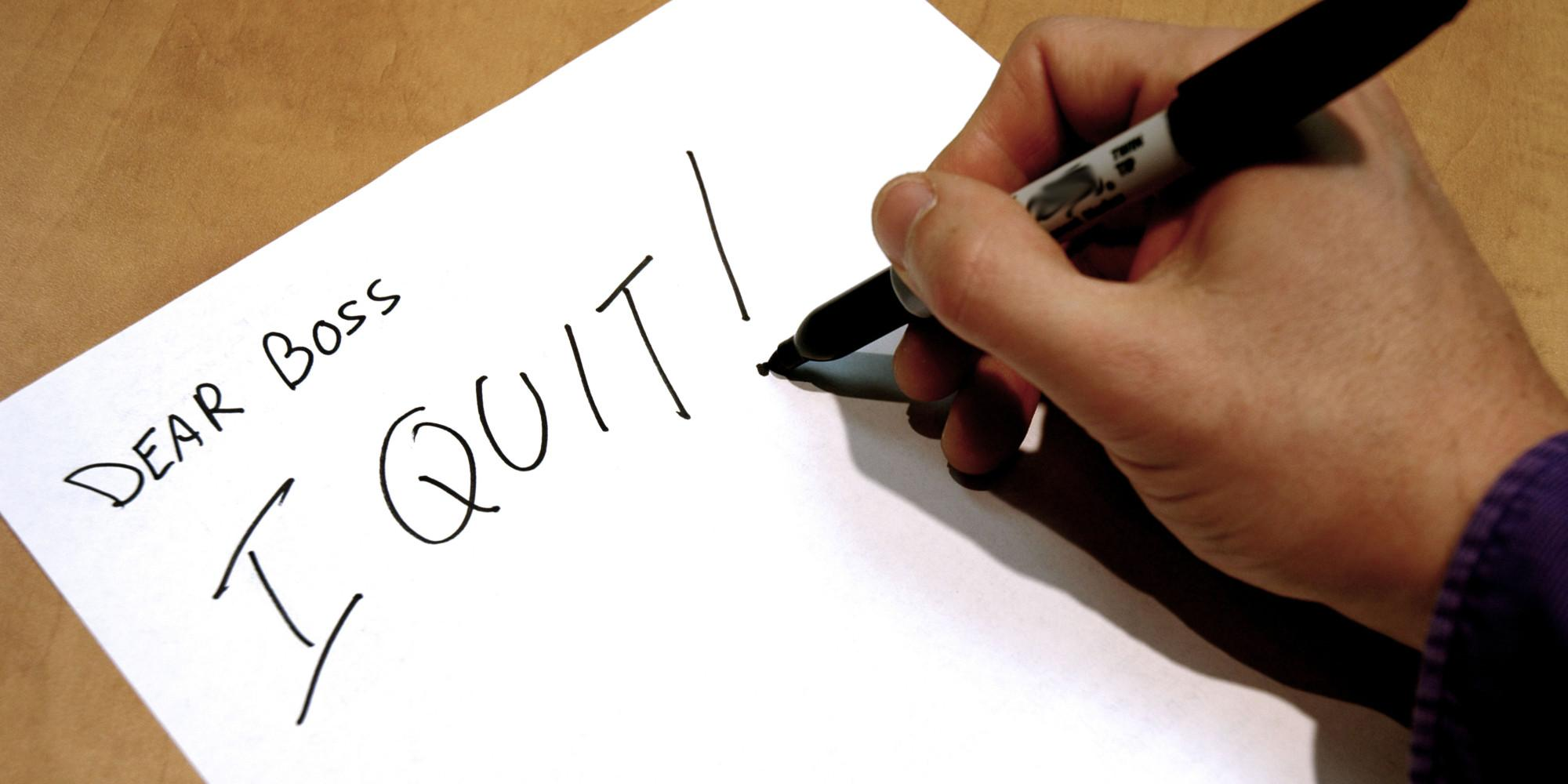 When reality hits: how to quit your job for self employment
