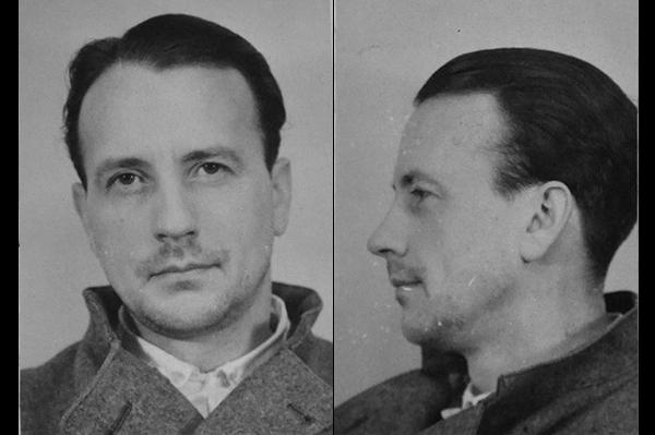 Birger Spång som han såg ut när han greps.