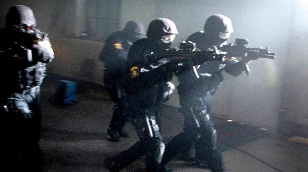 Poliser och skjutvapen