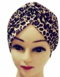 stylové turbany na podzim