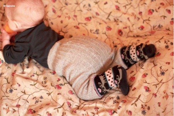 Tag 320: Sockenhose (©Sandra)