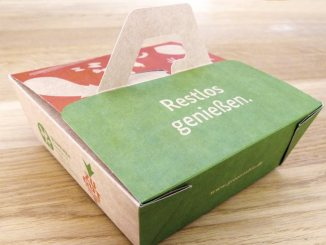 Bleibt im Restaurant etwas übrig? Dann –warum auch nicht? –einfach in der »Beste Reste«-Box mitnehmen …©Greentable/BMEL