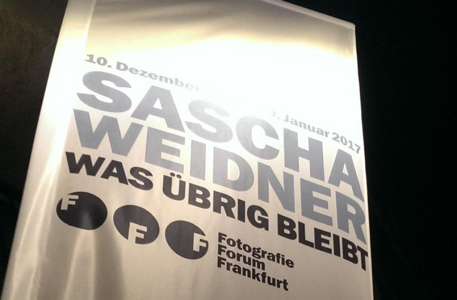 Sascha Weidner: »Was übrig bleibt«
