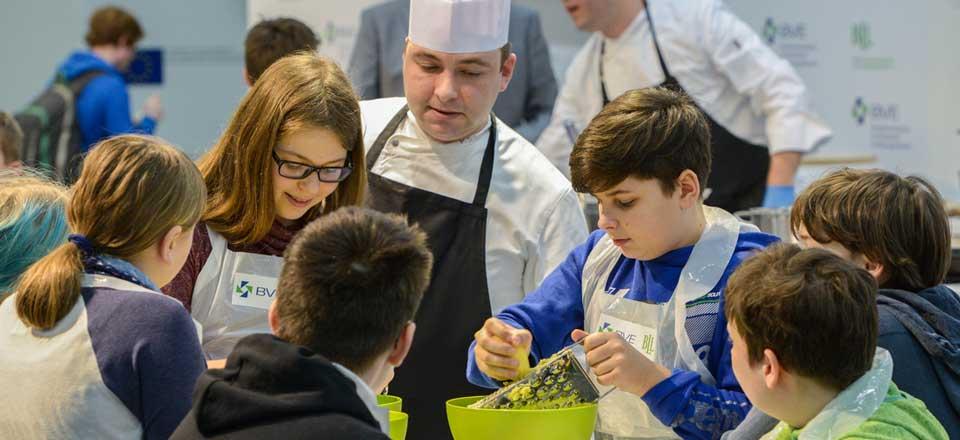 Kochaktion während der »Internationalen Grünen Woche« in Berlin