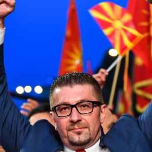 На Мицкоски му пукна филмот: Цела крими коалиција заедно со народот ќе ве победам