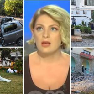 Погледнете го моментот кога започна пеколниот земјотрес во Албанија: Водителката во ЖИВО читаше вести, студиото се тресеше, а нејзиниот поглед зборува се