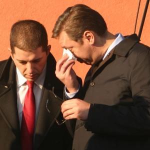 ВУЧИЌ СО СОЛЗИ ВО ОЧИТЕ: Почина најдобриот другар на Александар Вучиќ од КОРОНА (фото)