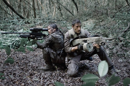 Arma de vanatoare BLASER R93 in filme(Predator)