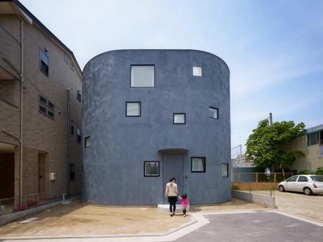 Овальный дом в Японии