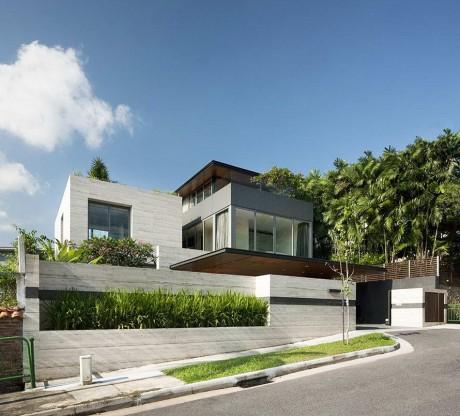 Каменный дом в Сингапуре
