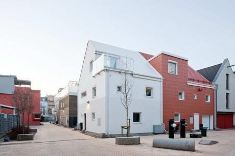 Жилой квартал в Швеции