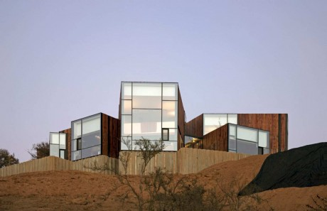 Дом на склоне в Чили 2