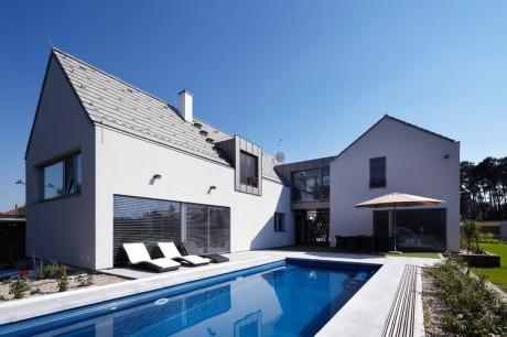 Сдвоенный дом в Чехии