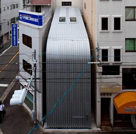 Узкий дом в Японии 2