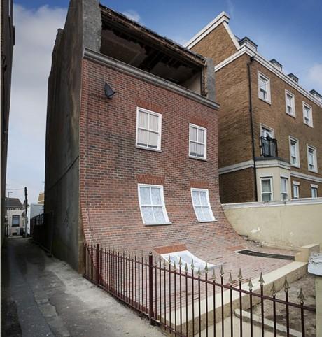 Скользящий фасад в Англии