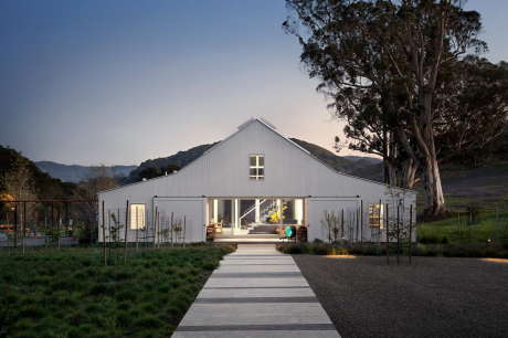 Дом Hupomone (Hupomone Ranch) в США от Turnbull Griffin Haesloop Architects.