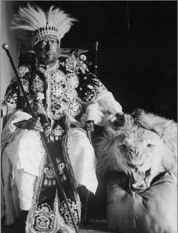 L'empereur éthiopien Ménélik