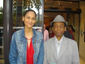 Sebatien Morel Matondo,homme des médias et une Gabonaise