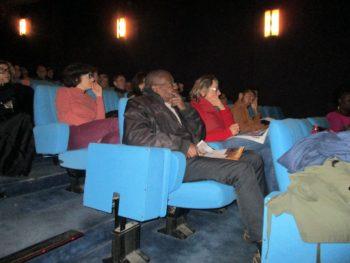 """Le film MAKALA, salle """"Le Balzac"""" : une partie du public (2/12/2017)"""