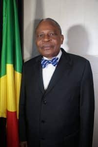 Monsieur Benoît Koukebene: homme d'Etat congolais.