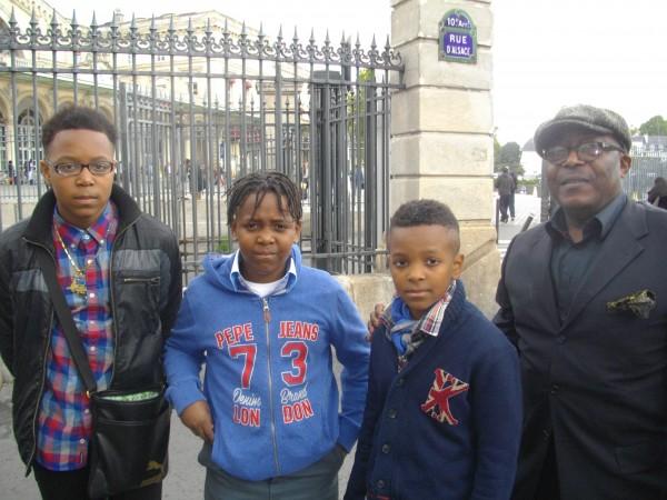 Muzembo Pierre et ses fils Peter,Jeannot et Fred: valeur de la victoire des Léopards à Kigali