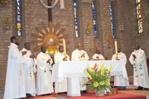 Eglise Notre-Dame-de-Fatima, le 12 avril 2015