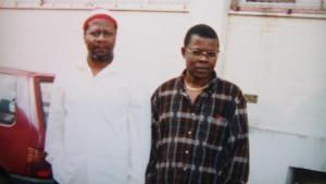 Papa Wemba et Nila Mbungu- amis intimes