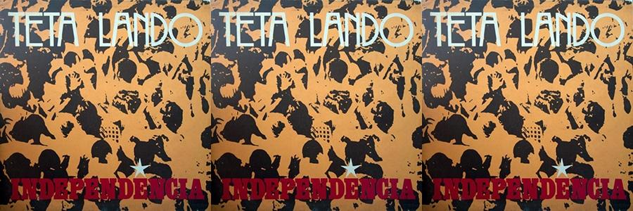"Sortie en France de l'album "" Independencia"" du feu chanteur célèbre angolais Teta Lando."