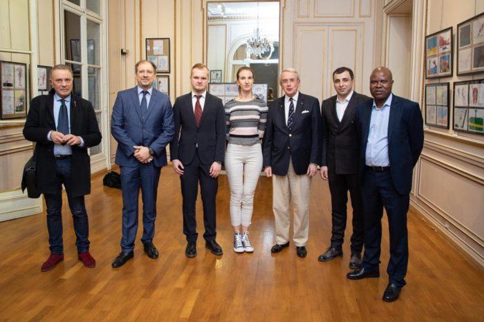 Photo CRSC Paris, 26 février 2019 : après cette conférence.