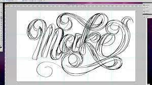 jessica hische lettering process video on vimeo